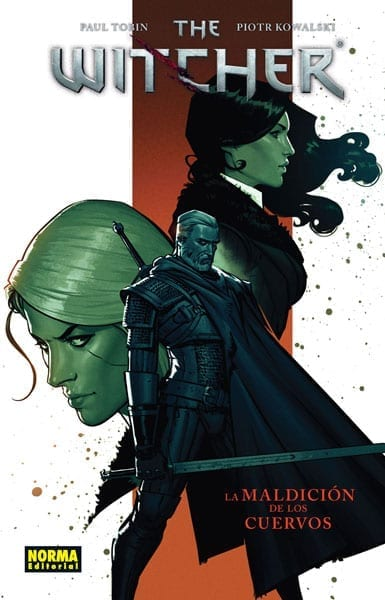 Comic completo The Witcher La Maldicion De Los Cuervos