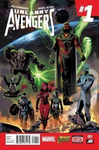 Comic completo Uncanny Avengers Volumen 2