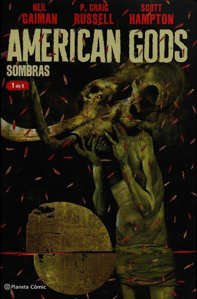 Comic completo American Gods: Sombras