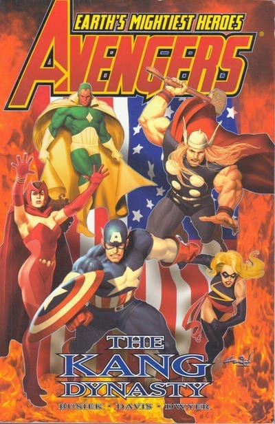 Comic completo Avengers The Kang Dynasty