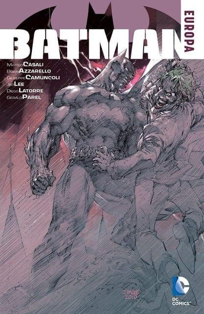 Comic completo Batman Europa