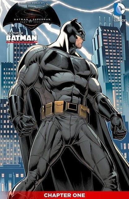 Comic completo Batman vs Superman Dawn of Justice