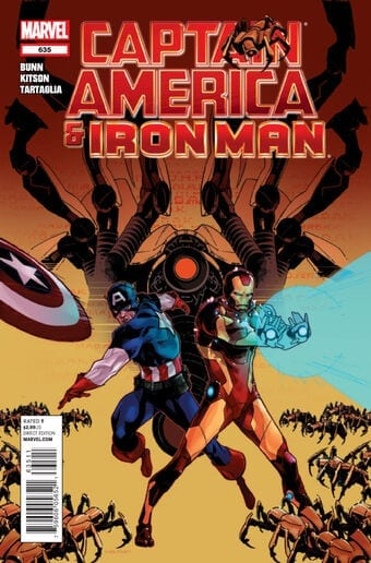 Comic completo Captain America and Iron Man Volumen 1