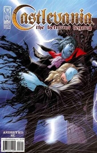Comic completo Castlevania El Legado De Los Belmont