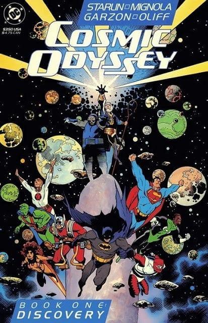 Comic completo Cosmic Odissey