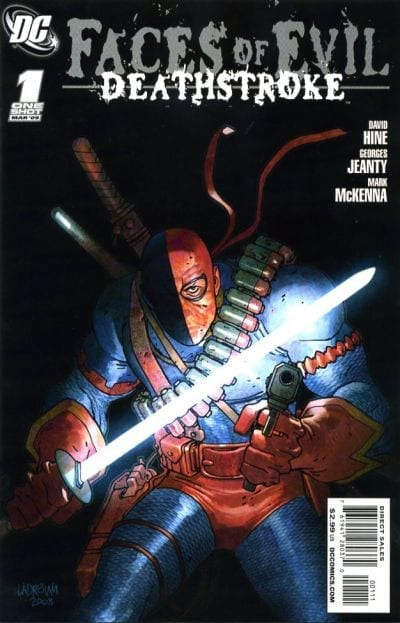 Comic completo Deathstroke Face Of Evil