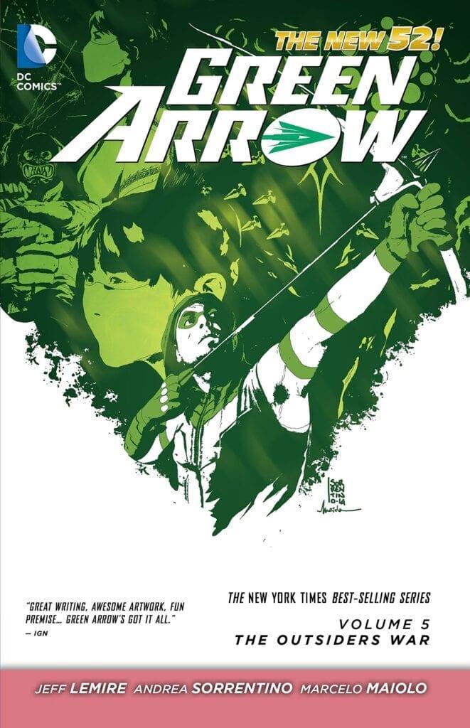Descargar Green Arrow Volumen 5 comic