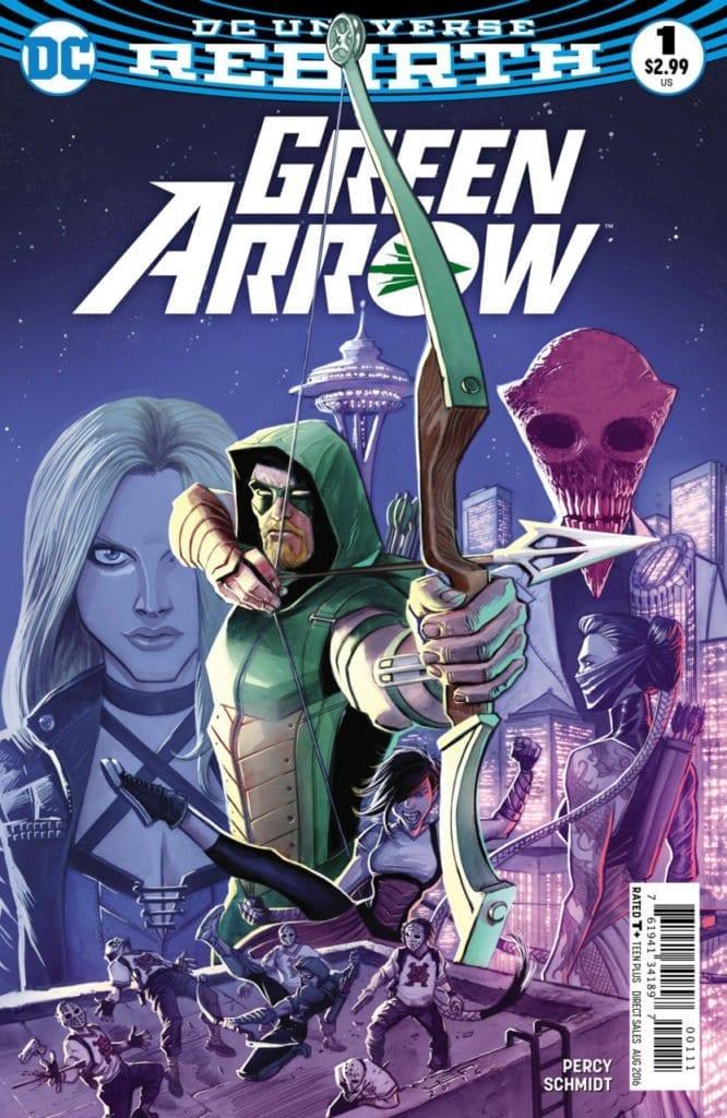 Comic completo Green Arrow Volumen 6