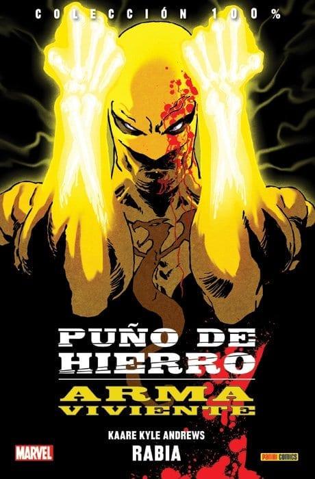 Comic completo Iron Fist: El arma viviente