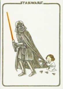 Descargar La Princesita de Vader comic