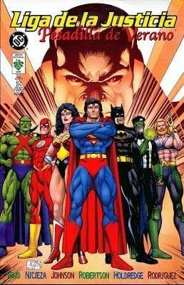 Descargar Liga de la justicia Pesadilla de verano comic