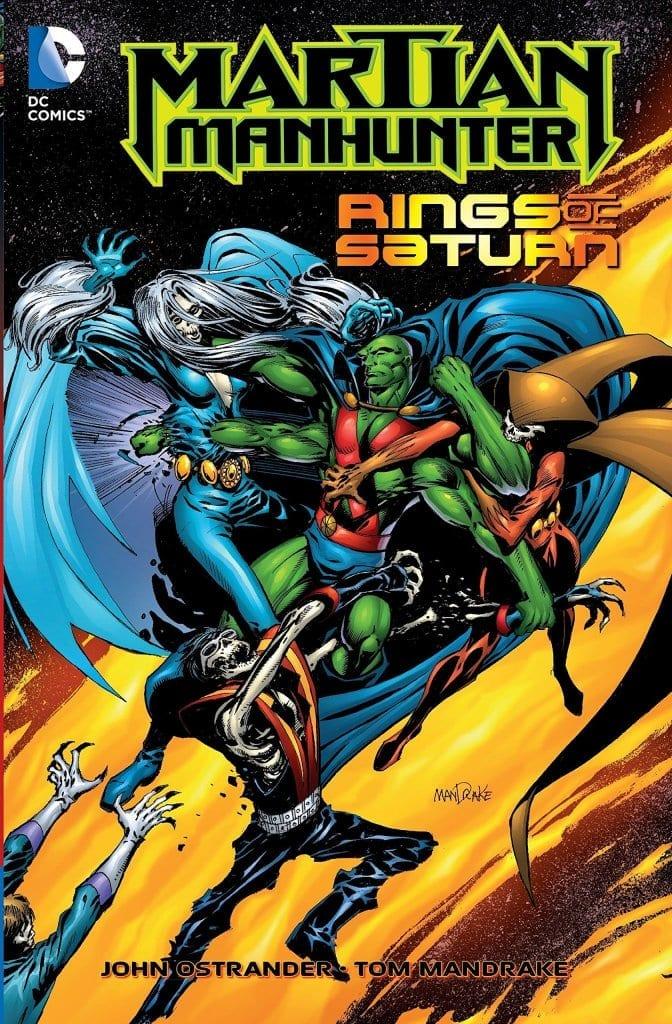 Comic completo Martian Manhunter: Rings of Saturn