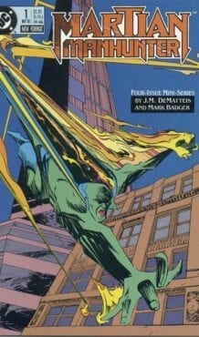 Comic completo Martian Manhunter Volumen 1