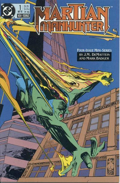 Comic completo Martian Manhunter Volumen 1