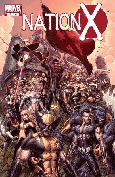 Comic completo Nation X