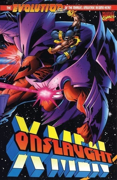 Comic completo Onslaught