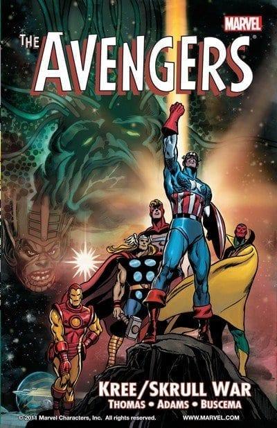 Comic completo The Avengers Kree Skull War