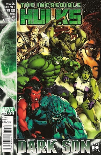 Comic completo The Incredible Hulks: Dark Son