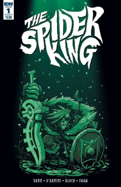 Comic completo The Spider King