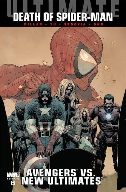 Comic completo Ultimate Avengers Vs New Ultimates