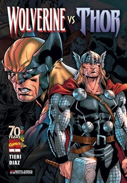 Comic completo Wolverine Vs Thor