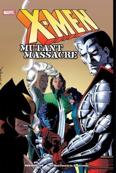 Comic completo X-Men Mutant Massacre