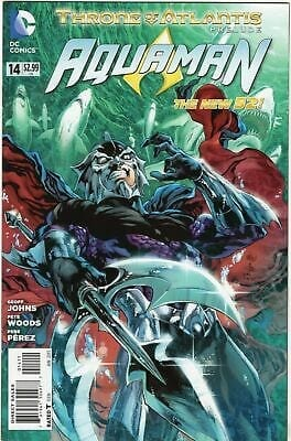 Comic completo Aquaman throne of atlantis