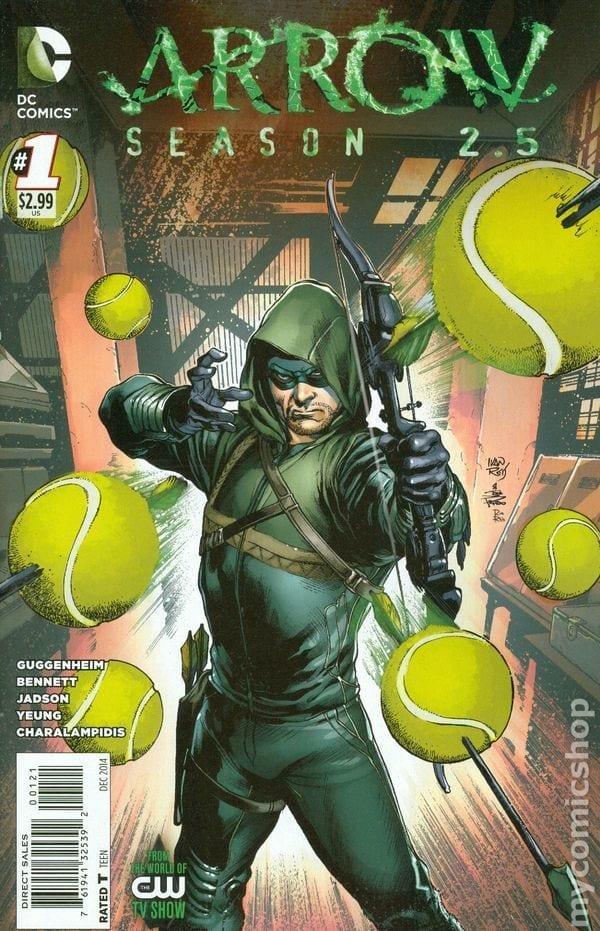 Comic completo Arrow 2.5