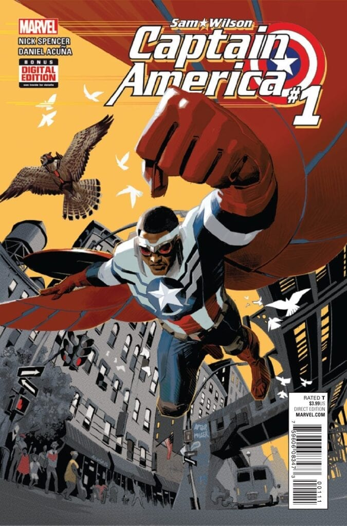 Descargar Captain America Sam Wilson Volumen 1 comic