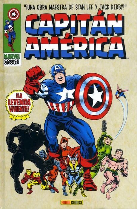 Descargar Captain America Volumen 1 comic