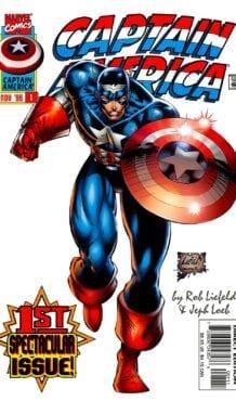 Comic completo Captain America Volumen 2
