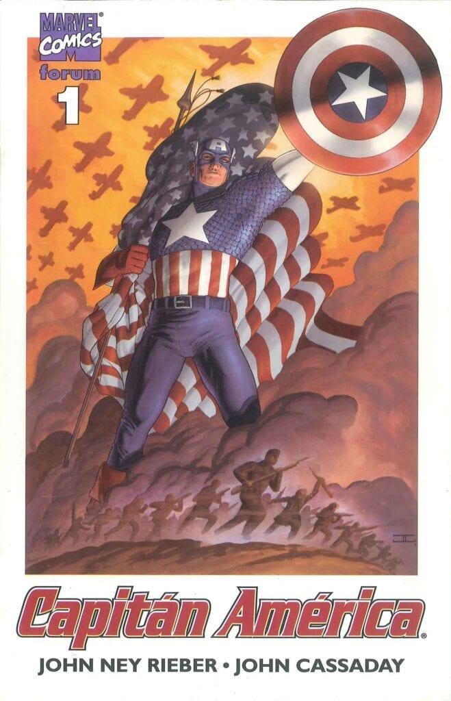 Descargar Captain America Volumen 4 comic
