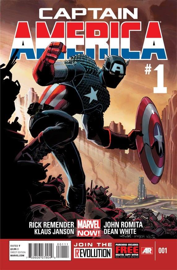 Comic completo Captain America Volumen 7
