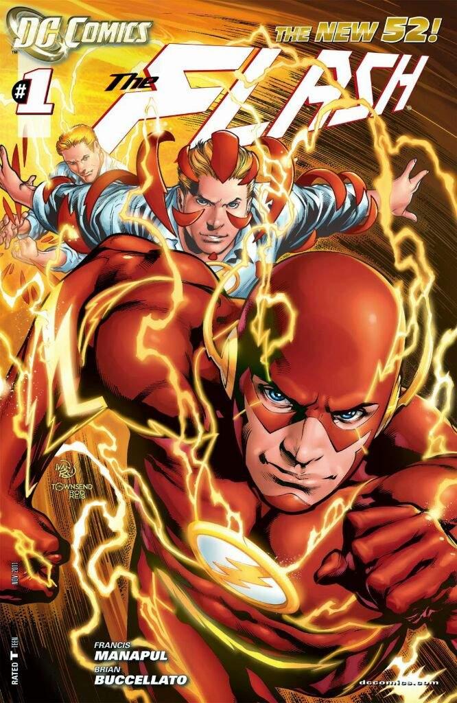 Descargar Flash New 52 comic