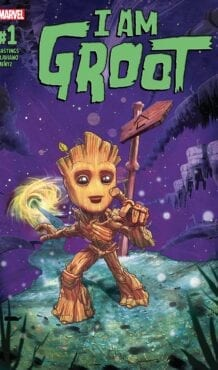Comic completo I Am Groot