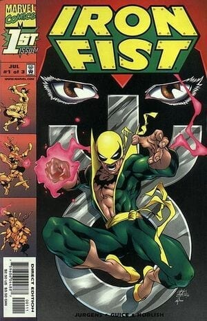 Descargar IRON FIST VOL 3 comic