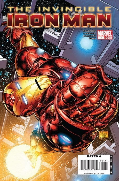 Descargar Iron Man Volumen 4 comic