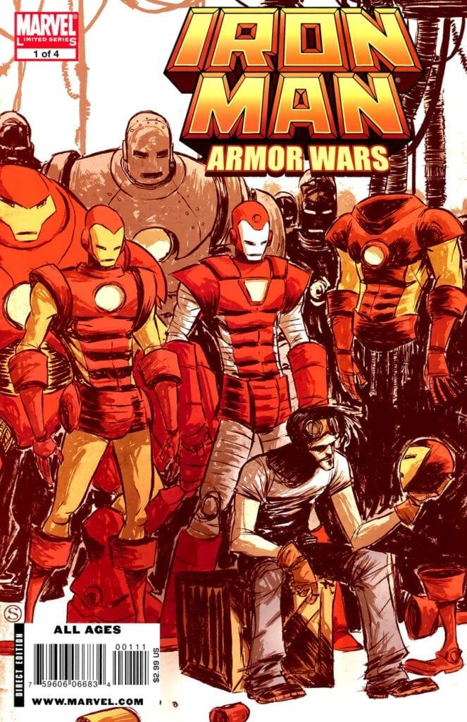 Descargar Iron man Armor wars comic