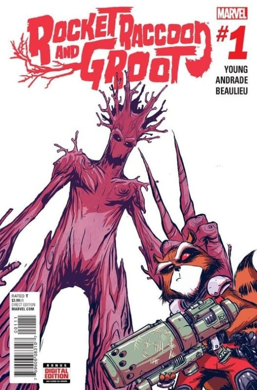 Comic completo Rocket Raccoon And Groot Volumen 1