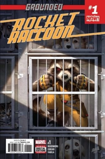Comic completo Rocket Raccoon Volumen 3