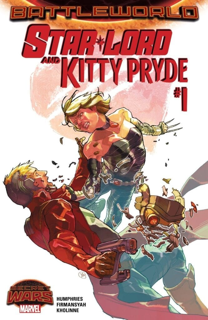 Comic completo STAR-LORD & KITTY PRYDE