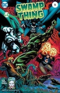Comic completo Swamp Thing New52