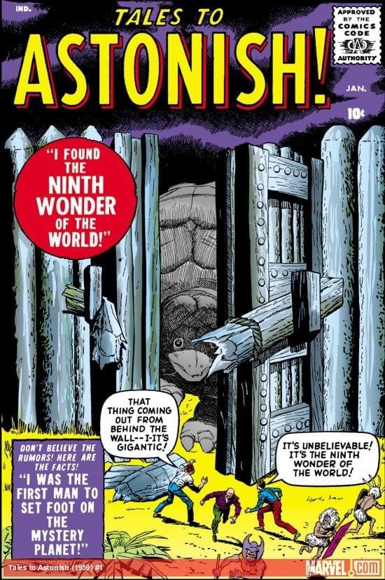 Descargar Tales to Astonish comic