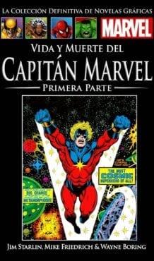 Comic completo VIDA Y MUERTE DEL CAPITÁN MARVEL