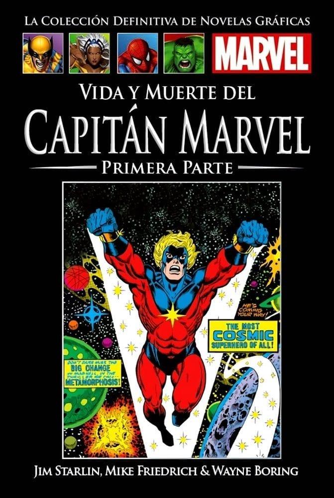 Descargar VIDA Y MUERTE DEL CAPITÁN MARVEL COMIC