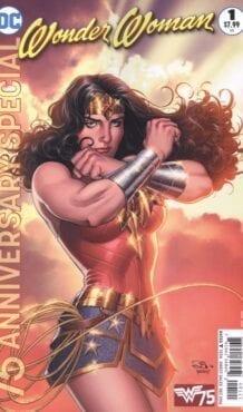 Comic completo Wonder Woman 75th Anniversary