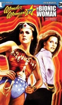Comic completo Wonder Woman '77 Meets The Bionic Woman