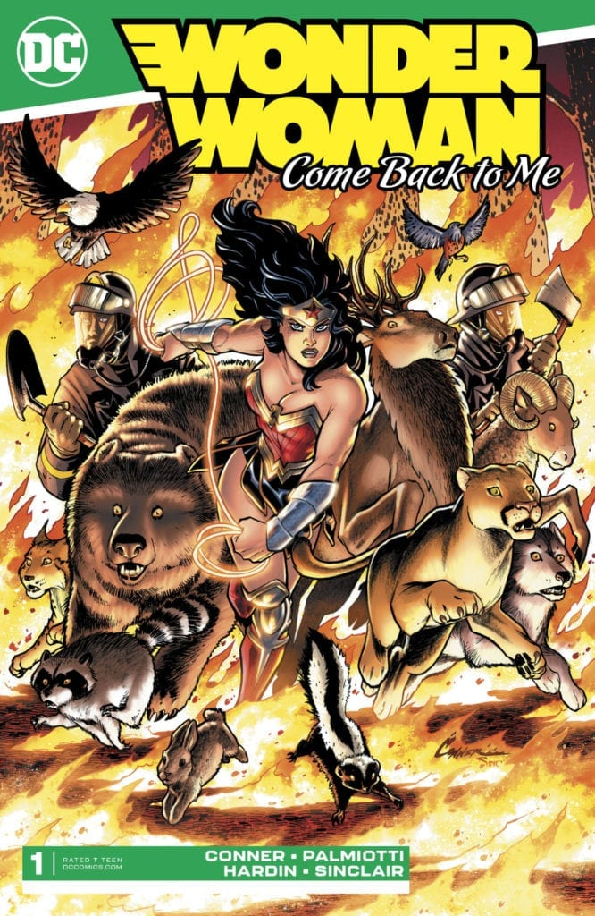 Descargar Wonder Woman Come Back to Me comic