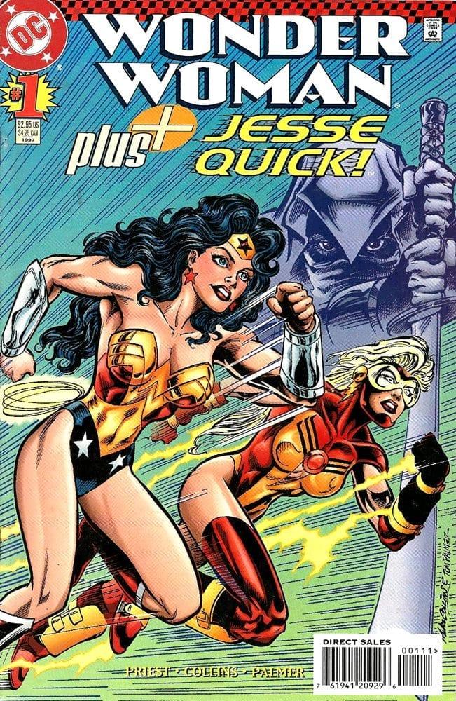 Descargar Wonder Woman Plus Jesse Quick comic