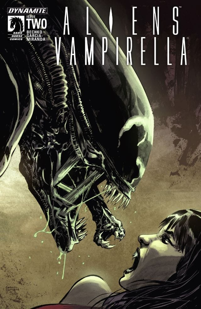 Descargar Aliens Vampirella comic